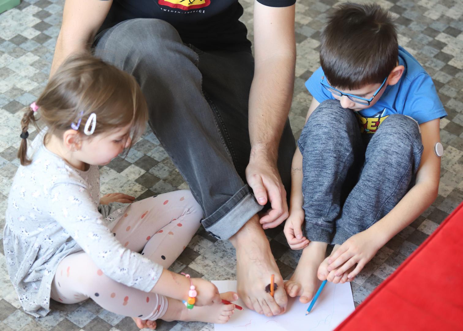 Jak se s dětmi zabavit nejen o Vánocích? Co třeba zdravě?