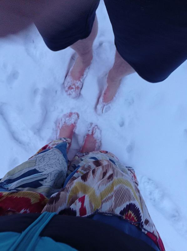 Noha potřebuje šikovnost a pružnost/Bc. Clara-Maria Helena Lewitová