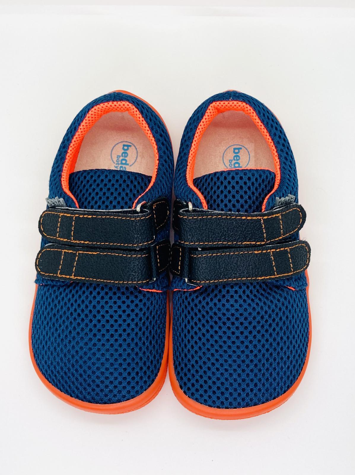 BEDA volnočasová obuv, BF 0001/ST/W Blue mandarine
