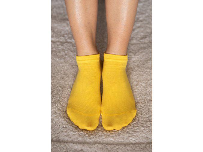 Be Lenka Barefoot Unisex Socks Yellow
