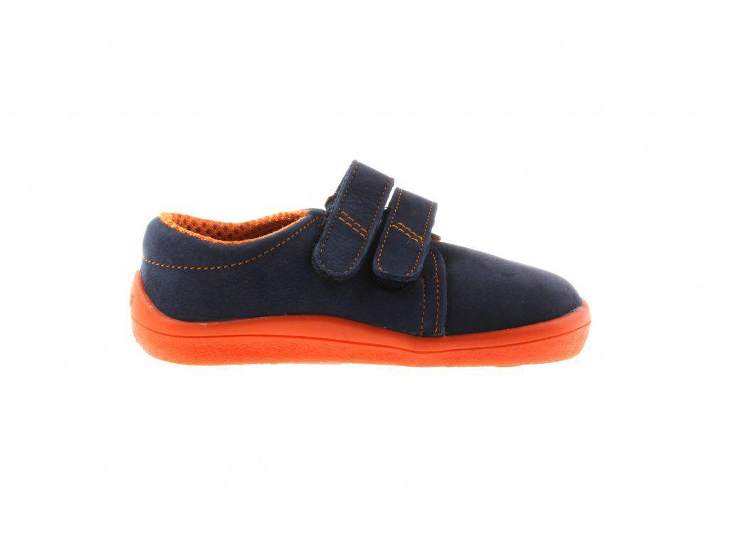 Beda volnočasová obuv nízká BF 0001/W/Nízký Blue Mandarine