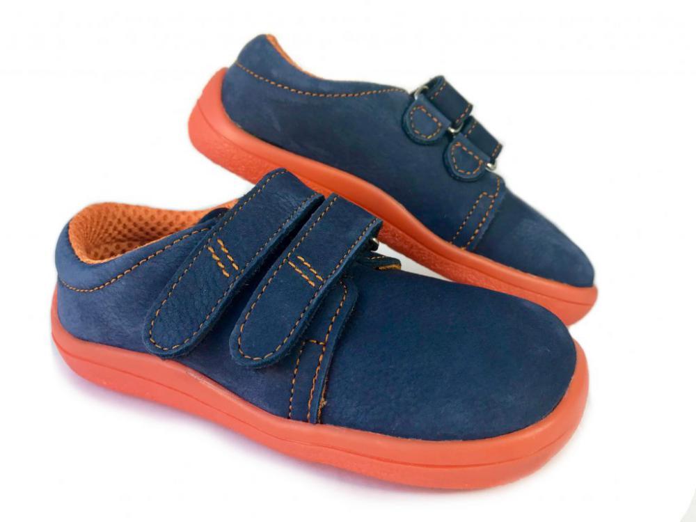 Beda volnočasová obuv nízká BF 0001/W/Nízký Blue Mandarine náhled
