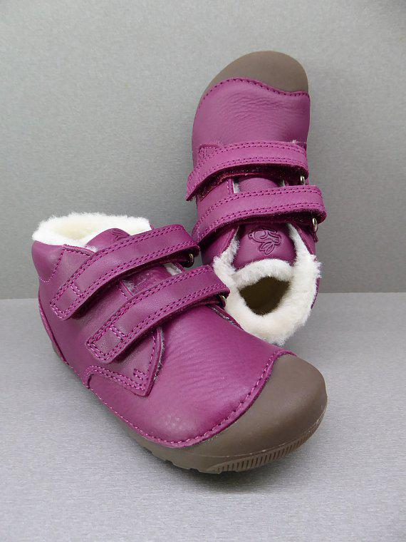 Bundgaard Petit Winter Velcro Rosewine