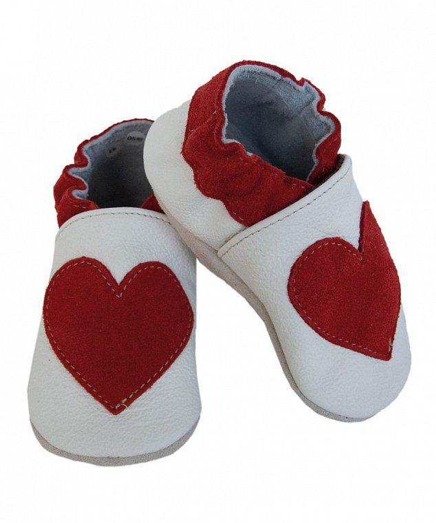 baBice capáčky srdce červené - BA - 145