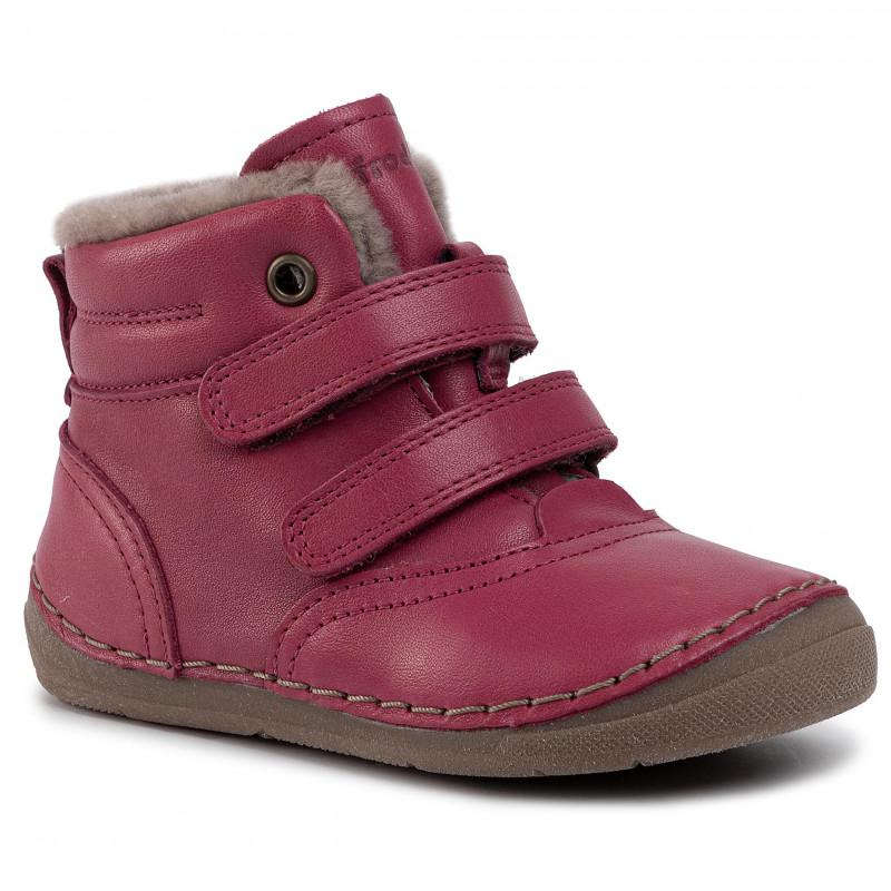 Froddo G2110078-11 Fuchsia Dětská zimní obuv