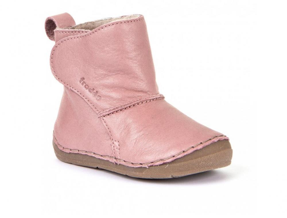Froddo G2160049-10 Pink Dětské zateplené kozačky