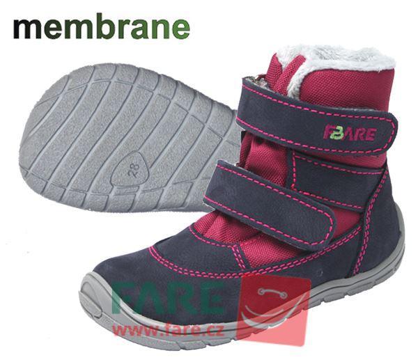Fare Bare dětské zimní nepromokavé boty 5141291, starší model