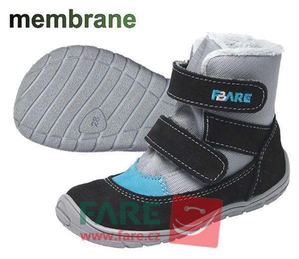 Fare Bare  dětské zimní nepromokavé boty 5141201, 5241201