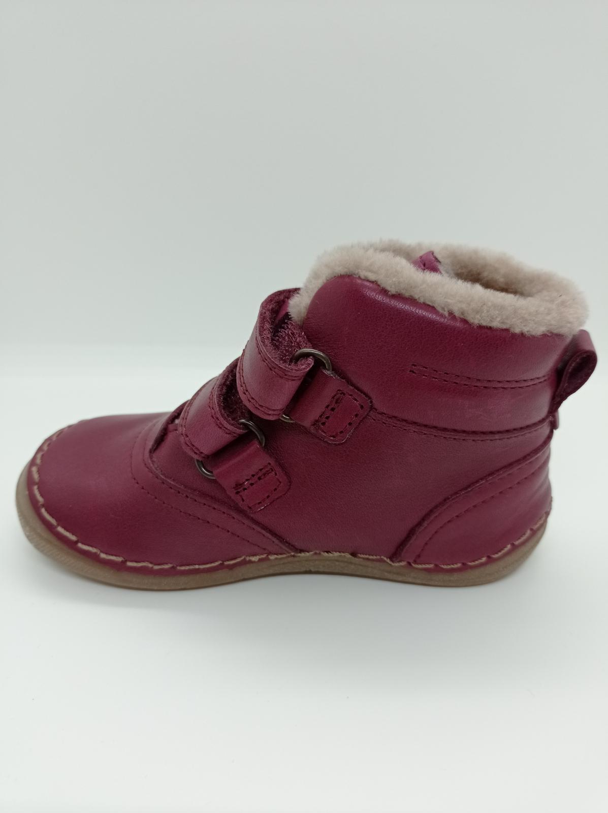 Froddo G2110087-10 Bordeaux dětská zimní obuv