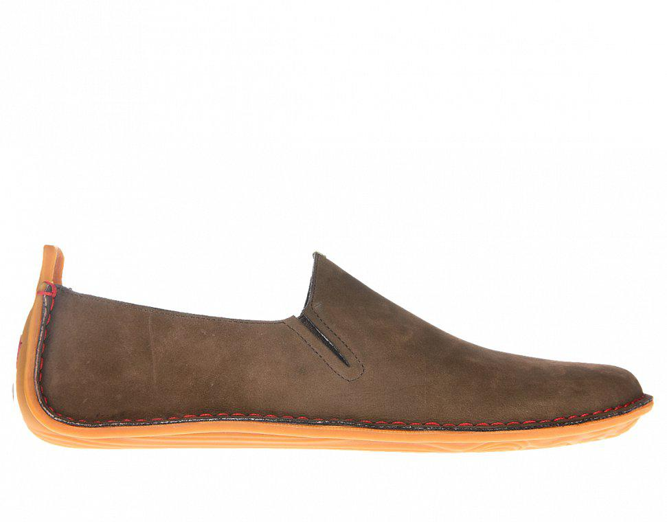 Vivobarefoot Ababa L Leather Brown náhled