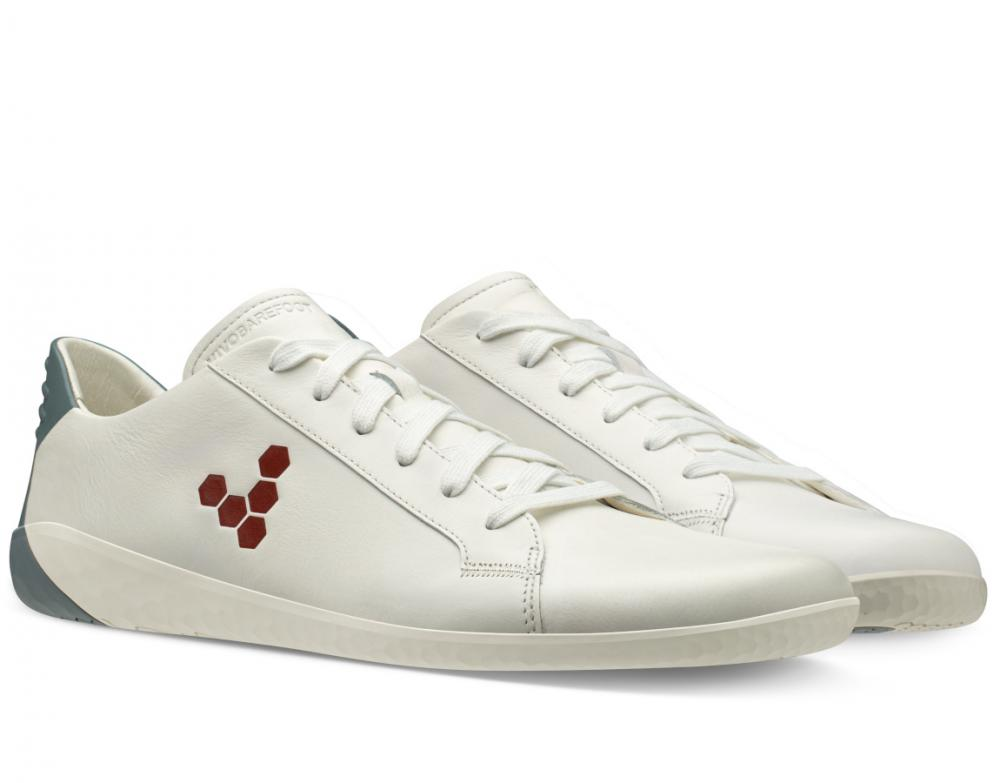 Vivobarefoot Geo Court M White Blue Red