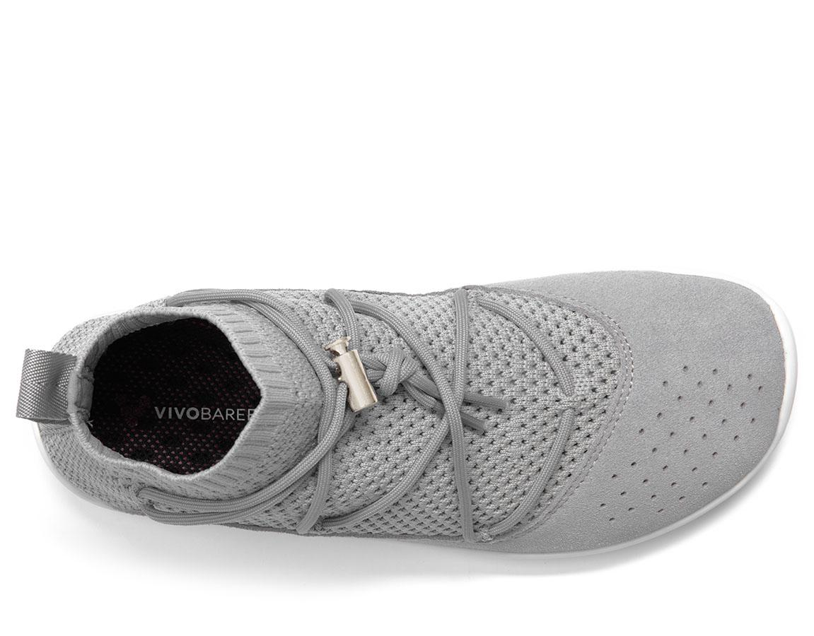 Vivobarefoot Kanna Sock Knit Vap Grey