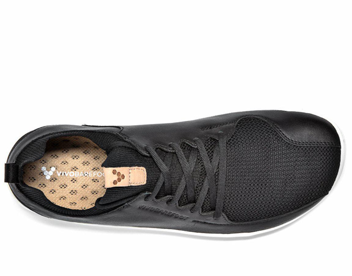 Vivobarefoot PRIMUS KNIT M Black Leather