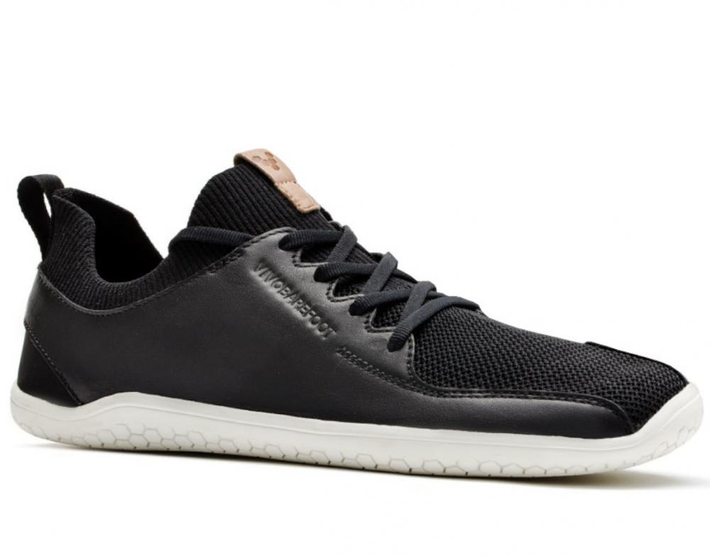Vivobarefoot PRIMUS KNIT M Black Leather náhled