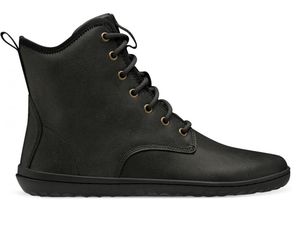 Vivobarefoot Scott 2.0 Leather Mens Obsidian