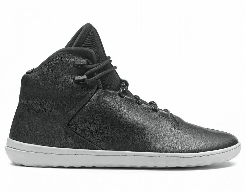 Vivobarefoot Borough M Leather Black náhled