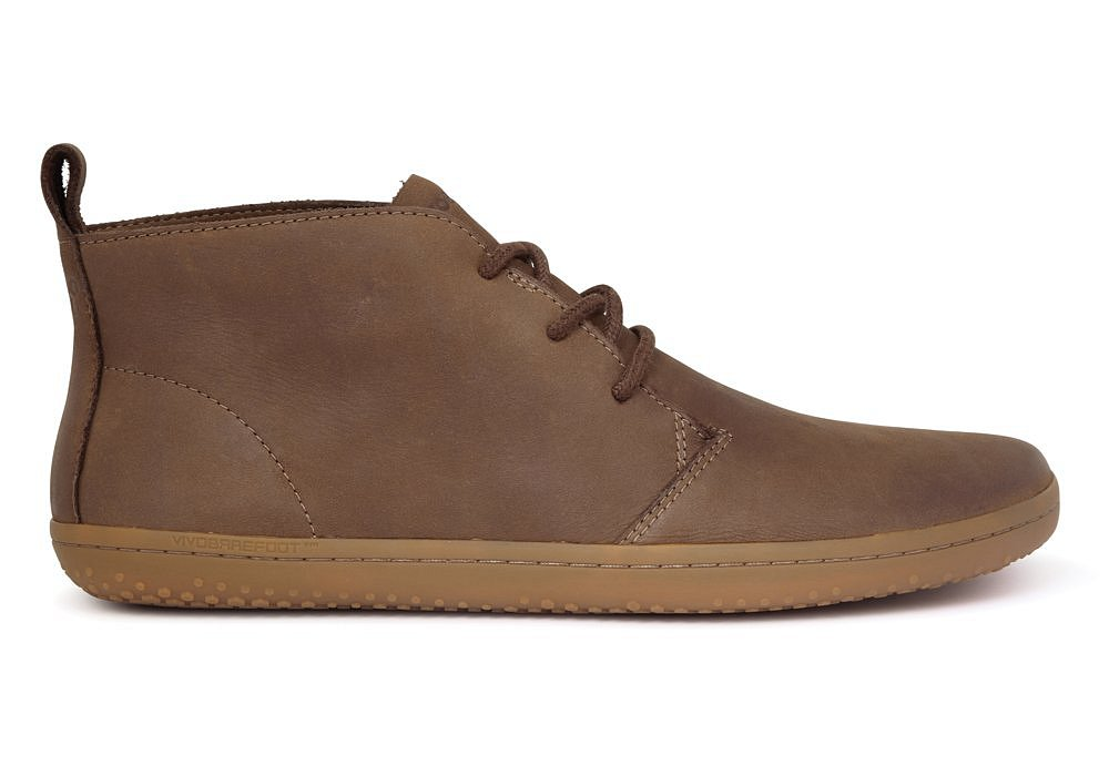 Vivobarefoot GOBI II M Leather Chestnut/Hide náhled