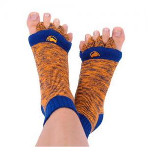 Adjustační ponožky Orange/Blue náhled