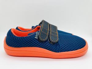 BEDA volnočasová obuv, BF 0001/ST/W Blue mandarine náhled