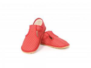 Beda barefoot bačkůrky červený puntík W náhled