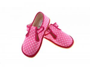 Beda barefoot bačkůrky růžový puntík náhled