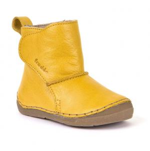 Froddo G2160049-7 Yellow Dětské zateplené kozačky náhled
