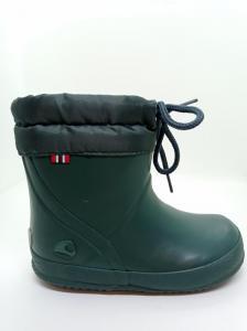 Gumáky Viking Indie Alv Dark Green Winter Wool náhled