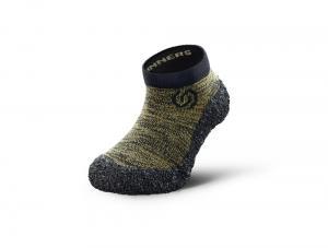 Skinners Kids Olive green Dětské ponožkoboty náhled