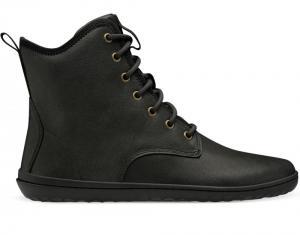 Vivobarefoot Scott 2.0 Leather Mens Obsidian náhled
