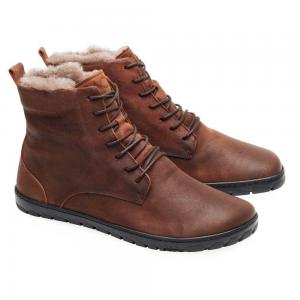 Zaqq Quintic Winter Velours Brown Waterproof náhled