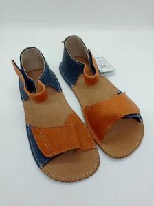 dětské sandály ORTO plus Mirrisa Modrooranžové náhled