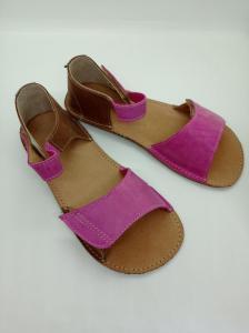 dětské sandály ORTO plus Mirrisa Růžovohnědé náhled