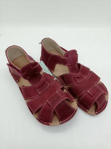 dětské sandály ORTO plus Palm Vínové náhled