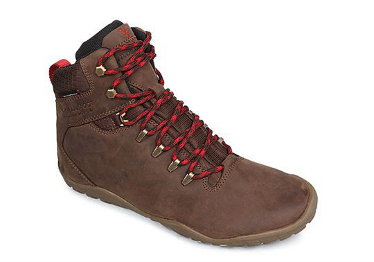 Vivobarefoot Tracker FG L Leather Dk Brown náhled